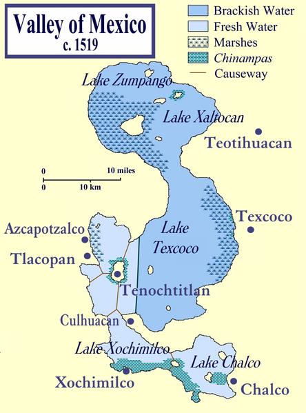 Aztec Territory Map