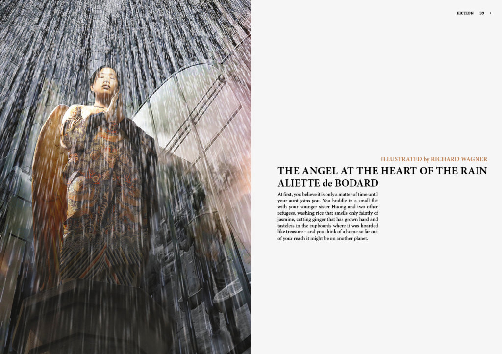 "Richard Wagner shortlisted for BSFA Award for ""The Angel at the Heart of the Rain"" artwork"
