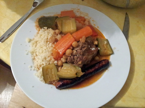 New recipe: couscous