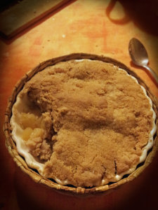 Buckwheat Apple Crumble