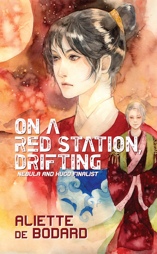 Print edition of On a Red Station Drifting