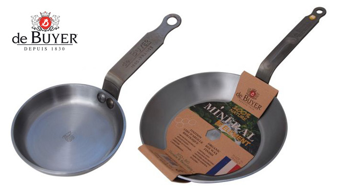 De Buyer mineral B omelette pan