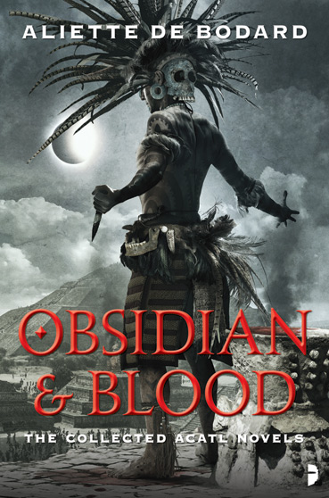 Obsidian and Blood cover