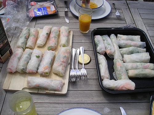 Goi cuon: spring rolls