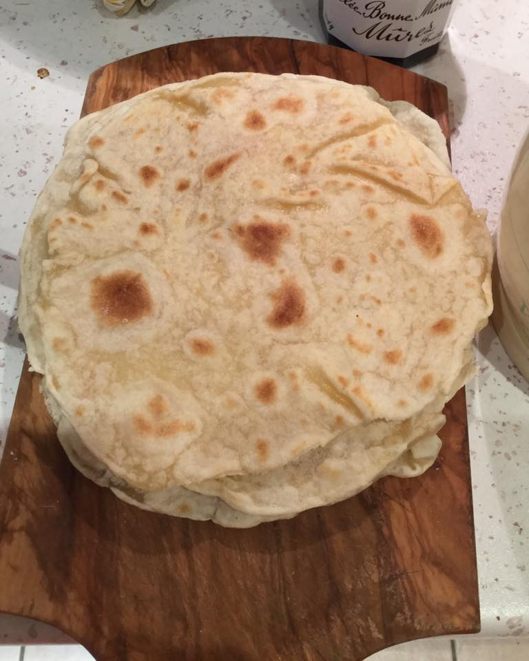 Wheat flour tortillas