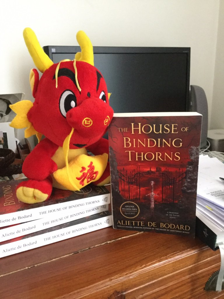 Giveaway for ARC of HOUSE OF BINDING THORNS