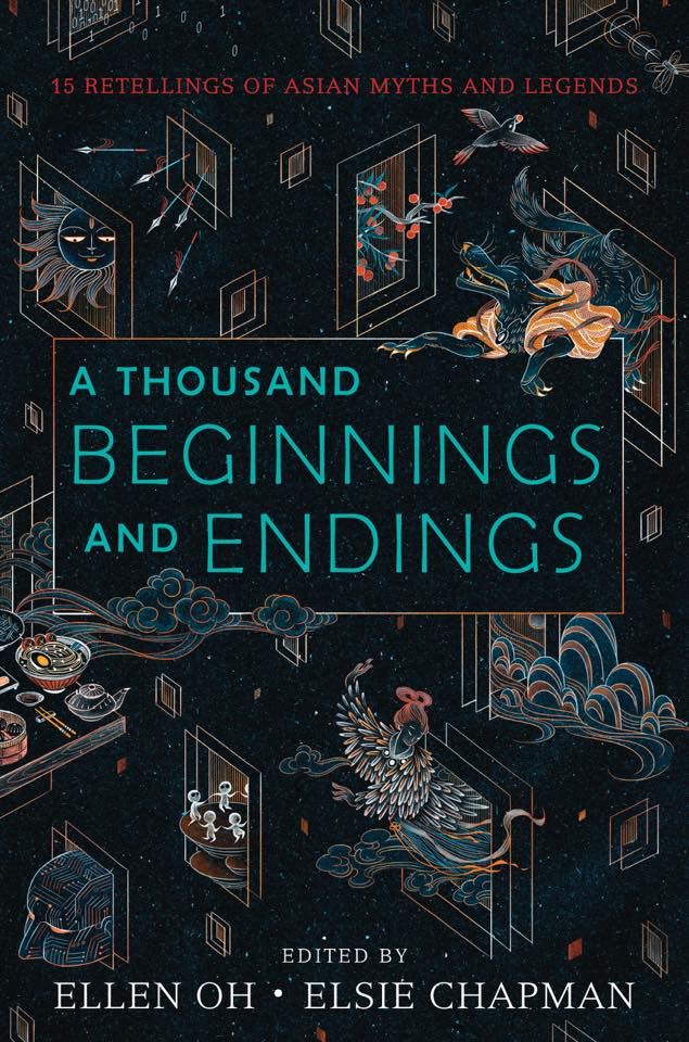 "Cover reveal for ""A Thousand Beginnings and Endings"""