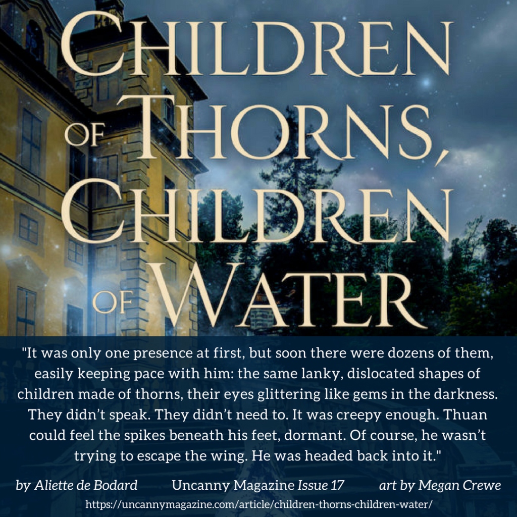 Children of Thorns, Children of Water up for a Hugo Award for Best Novelette