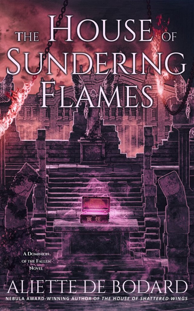 The House of Sundering Flames US edition !